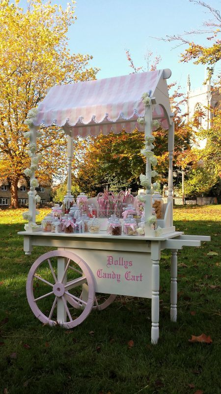 Dolly's Candy Cart Wedding Hire