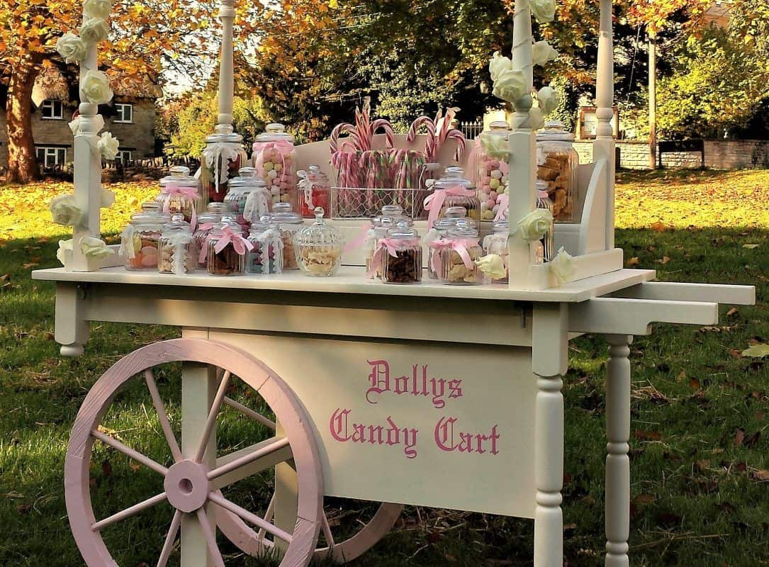 candy cart hire for weddings